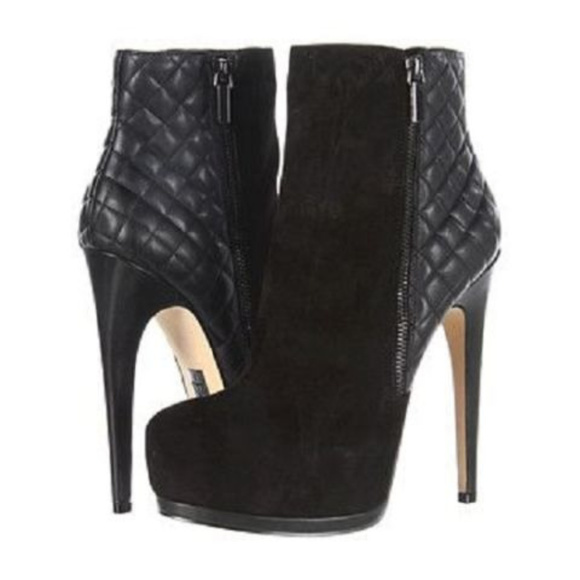 Truth or Dare by Madonna Shoes - ♠️ Black Booties ♠️ truth or dare?